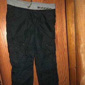 Cat and Jack boys black pants 4/5
